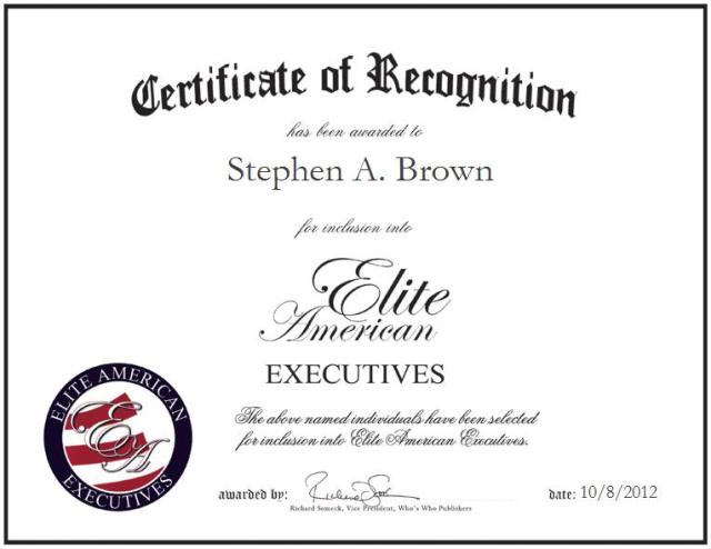 Stephen A. Brown
