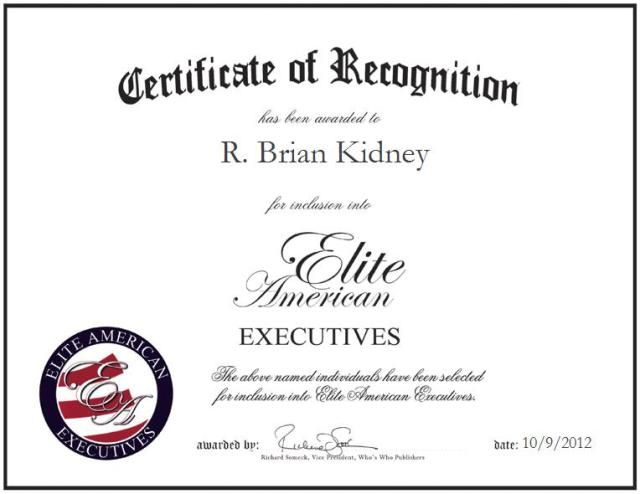 R. Brian Kidney
