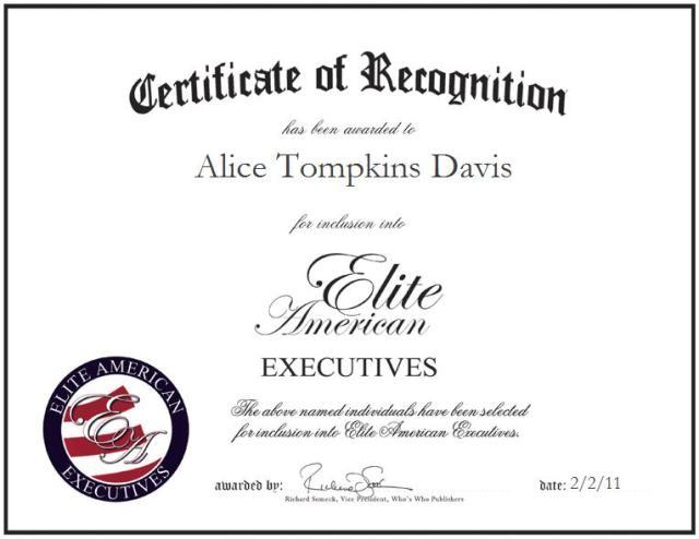Alice Tompkins Davis