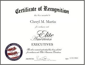 Cheryl M. Martin