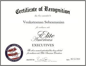 Venkatraman Subramanian