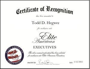 Todd D. Hegwer