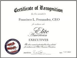 Francisco L. Fernandez, CEO
