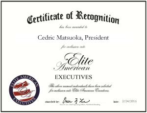 Matsuoka, Cedric 1280035